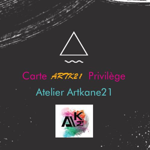 Carte privilège Artk21