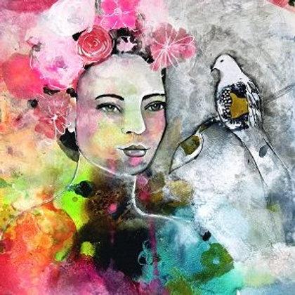 Abstrait portrait (6 ateliers) en ligne
