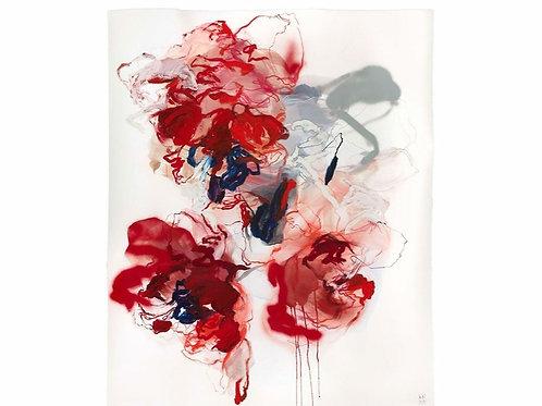 Fleur semi abstraite