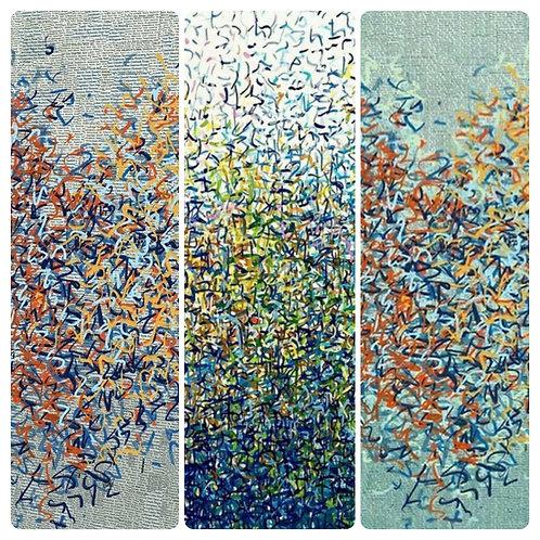 Technique collage & pointisme
