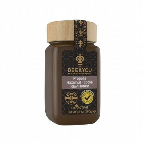 Propolis + Hazelnut + Cocoa + Raw Honey Spread 180gr