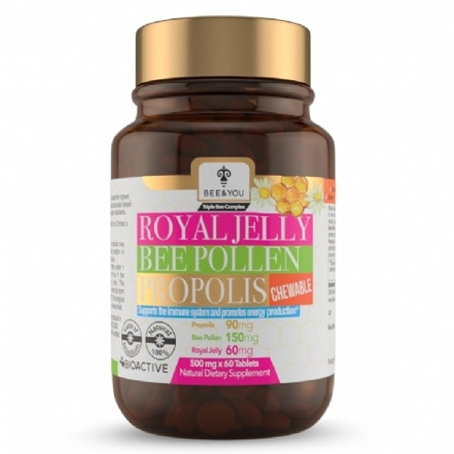Royal Jelly Bee Pollen Propolis (Chewable Tablets)
