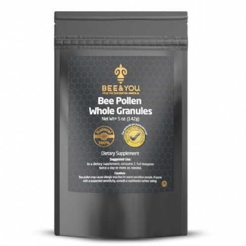 Dried Bee Pollen Whole Granules 142 gr
