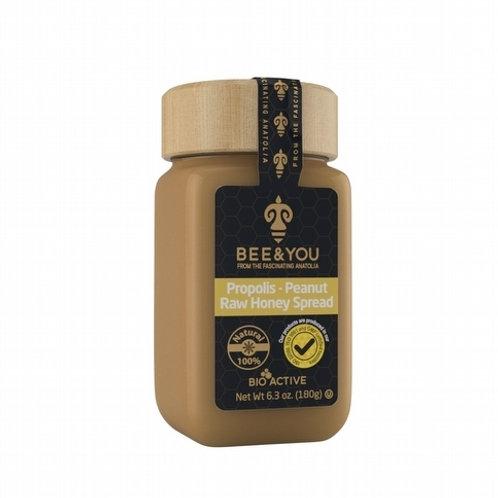 Propolis + Peanut + Raw Honey Spread 180 gr
