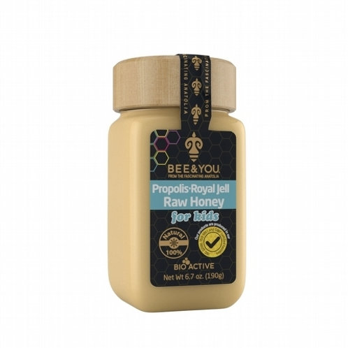 Propolis + Royal Jelly + Raw Honey (for kids)