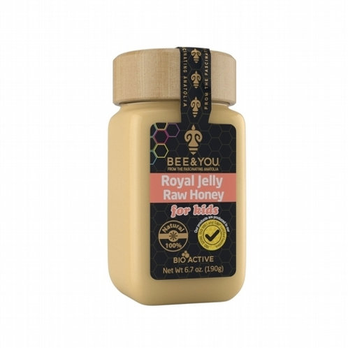 Royal Jelly + Raw Honey (for kids)