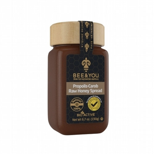 Propolis Carob Raw Honey Spread