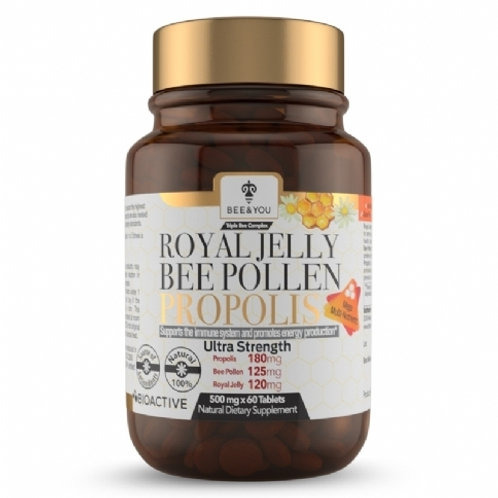 Royal Jelly Bee Pollen Propolis Tablets