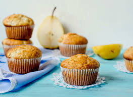 Pear Muffins with Fall Spice