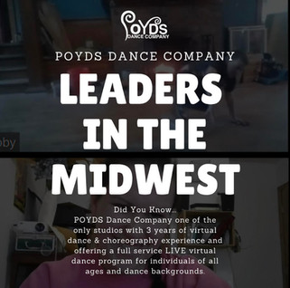 Leaders In the Midwest In Virtual Dance