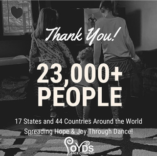 United In Hope & Dance - Thank you to everyone who put on their dancing shoes with us!