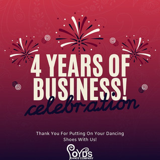 4 Years Businesss Celebration April 2020