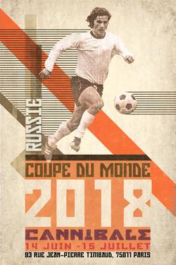 Affiche coupe du monde 2018
