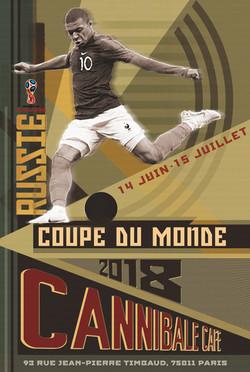 Affiche coupe du monde de football 2018