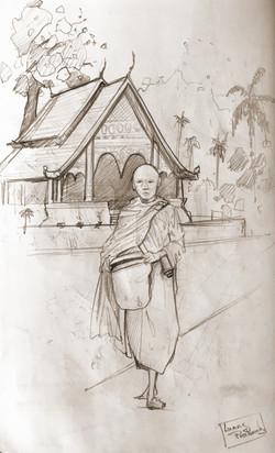 Carnet de voyage, Luang Prabang