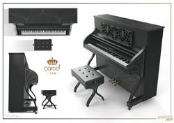 "design du Piano Carod ""Italy"""