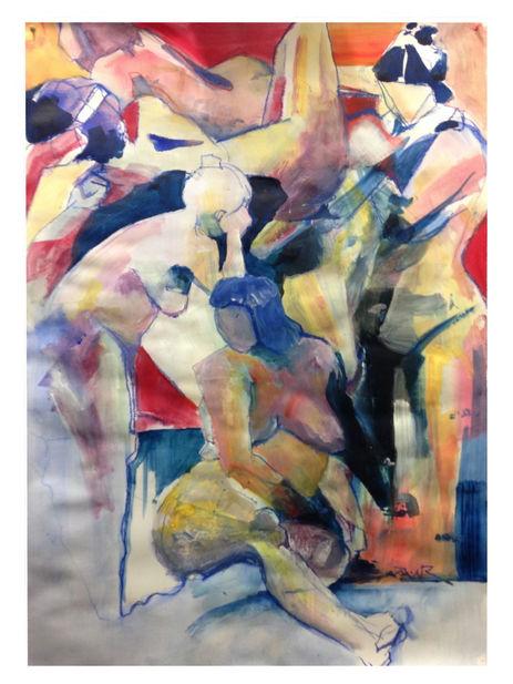 peinture composition nus acrylique