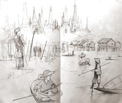 Carnet de voyage, Birma