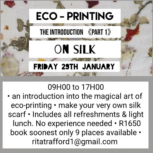 Intro into Eco-Printing Workshop