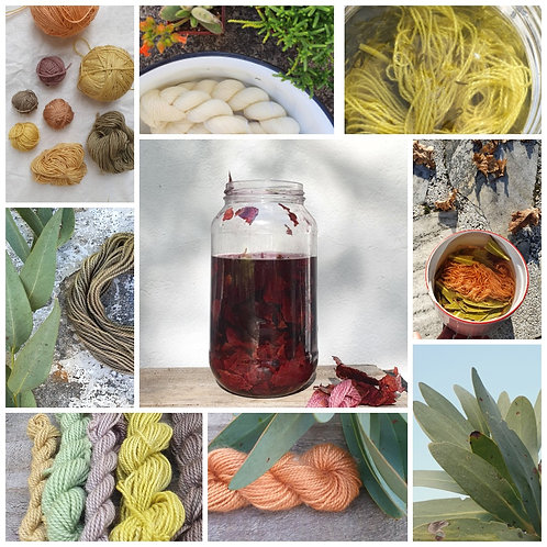 To Dye For workshop - Saturday 3rd October 10H00