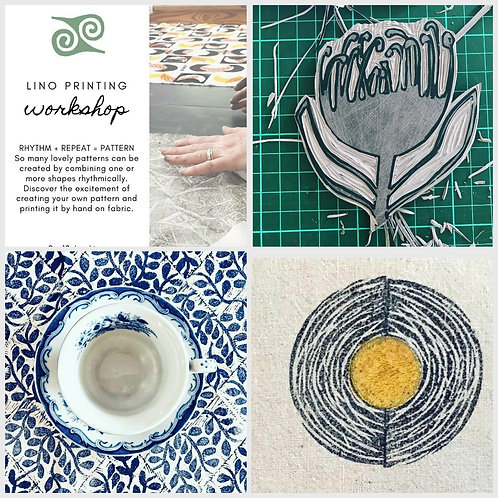 .19th and 20th February. 2-Day Lino Printing Workshop