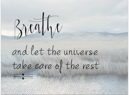 Breathe in Change