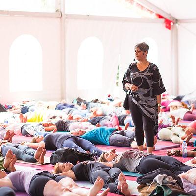 Yin Yoga at Yogalife  Festival Laarne 20