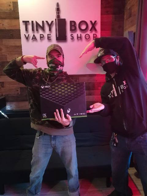 Zach won a Xbox Series X from our Kennedy Location!!!