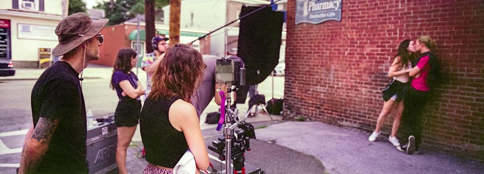 Behind the Scenes Smooch.