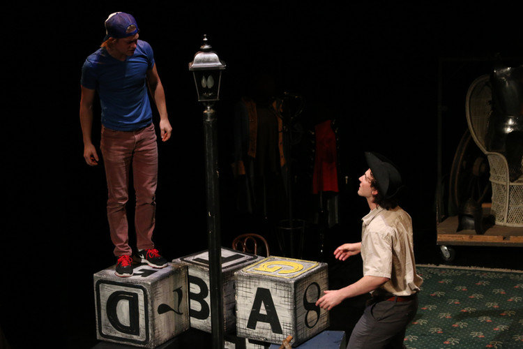 Dromio and Antipholus in Comedy of Errors