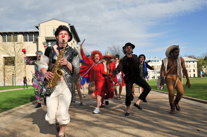 Baron Leads the Parade in Clownfest
