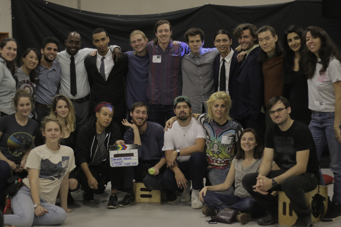 Dominant Species Cast and Crew.