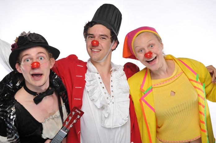 Clown Trio in Clownfest