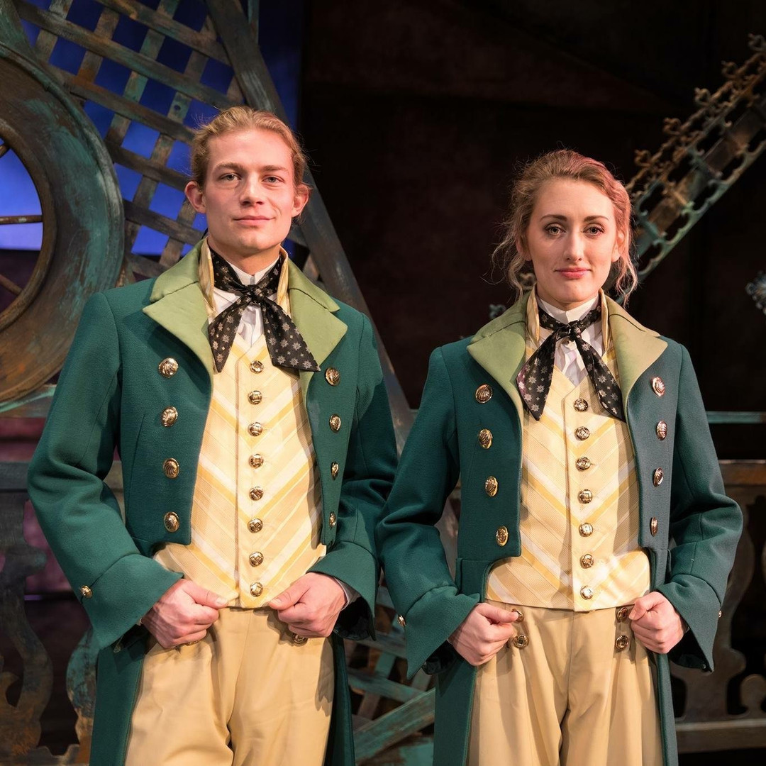 The Twins in Twelfth Night