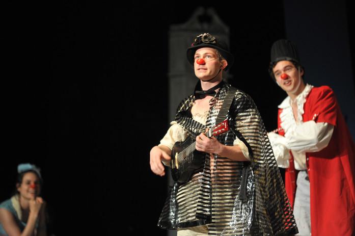 Poetry by Baron Lovelace in Clownfest