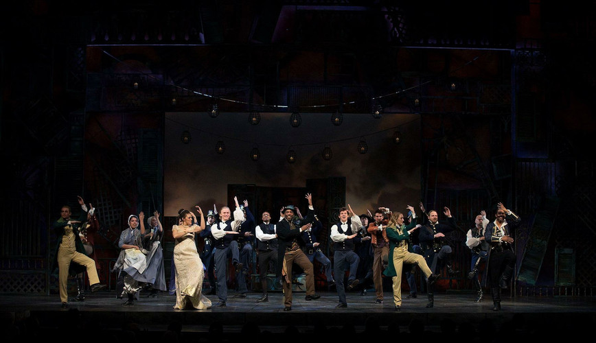 Joyous Curtain Call in Twelfth Night