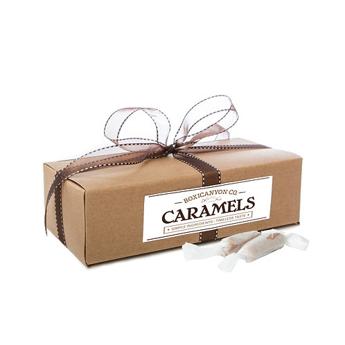Traditional Vanilla Caramels - Two Dozen Gift Box