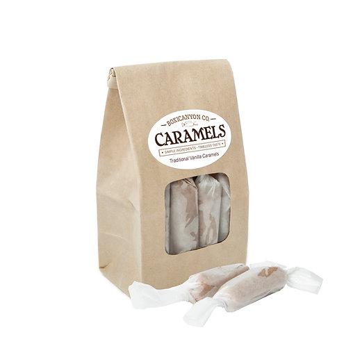 Traditional Vanilla Caramels - One Dozen Bag