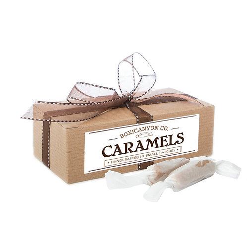 Grey Sea Salt Cream Caramels - One Dozen Gift Box