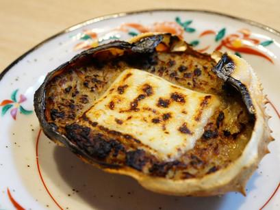 ずわい蟹の身入りの『蟹味噌甲羅グラタン』