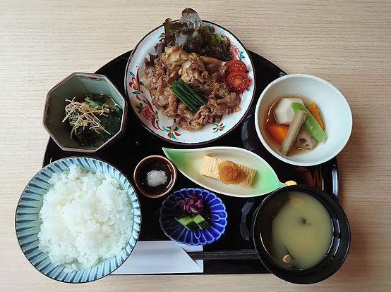 ランチ 黒毛和牛照焼膳 舞茸 20210801 DSC_0401.JPG