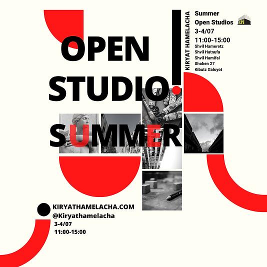 Open Studios ⎮ Summer