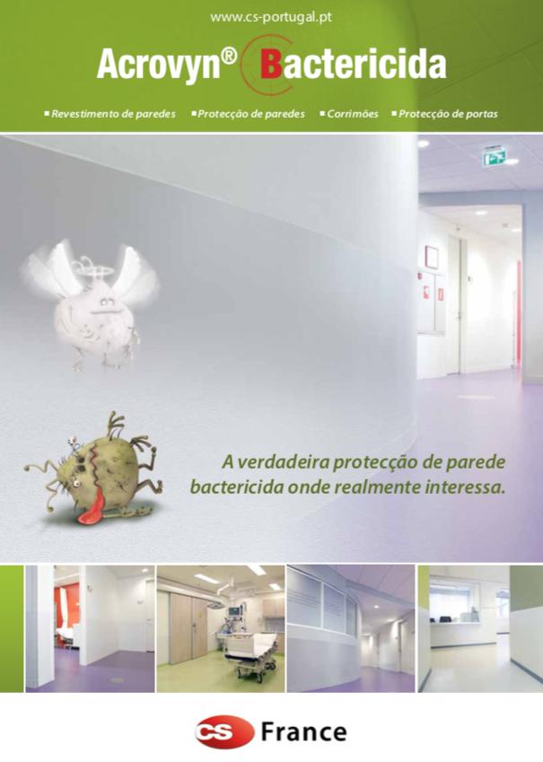 CS France bactericida hospitais obras