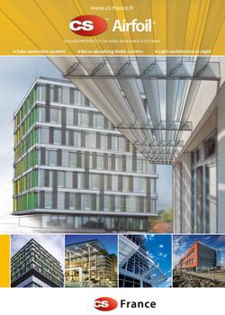 CS Airfoil edificios protecao solar