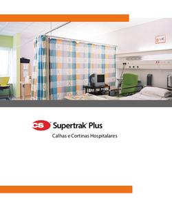 CS Supertrak Plus calhas e cortinas hosp