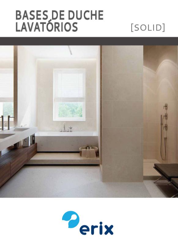 erix bases de duche e lavatorios