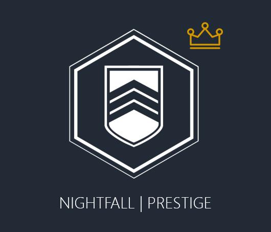 Nightfall - 100K Completion x 3