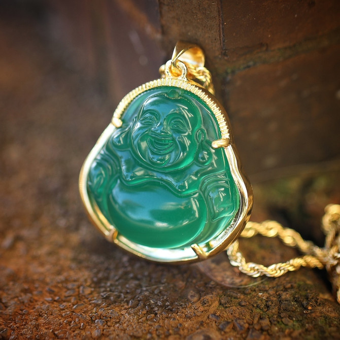 Hip Hop Buddha Necklaces