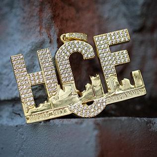 Mens custom hip hop jewelry medium size custom pendant 1 2 inche aloadofball Images
