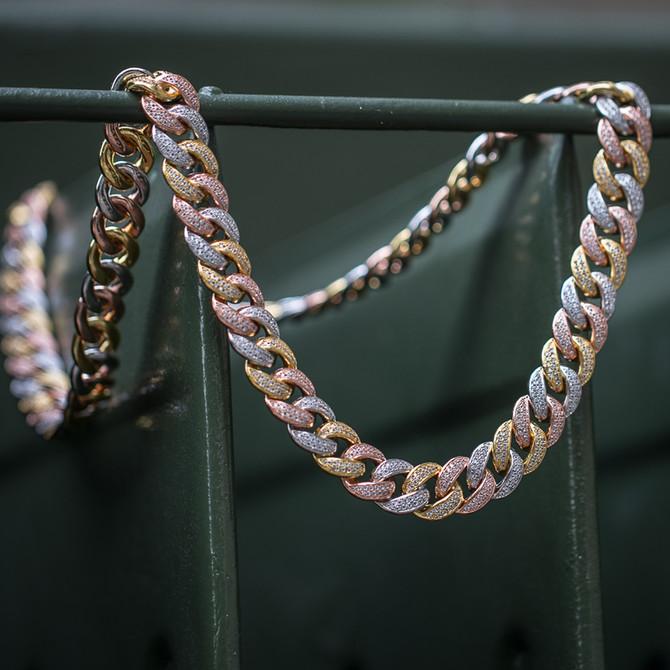 Diamond Cuban Link Chain